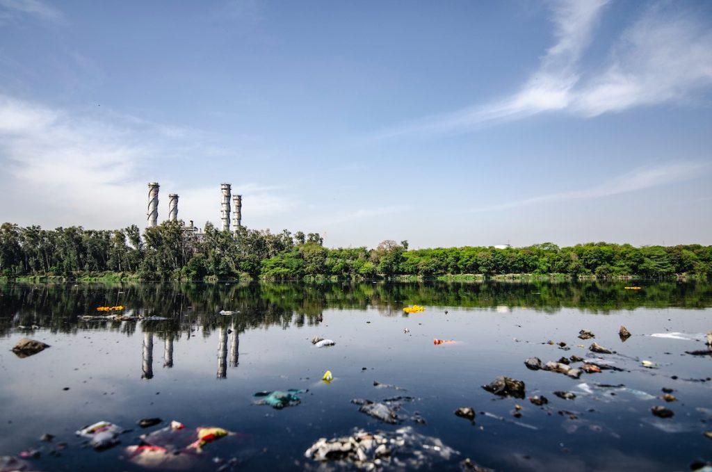 Plastik im Wasser